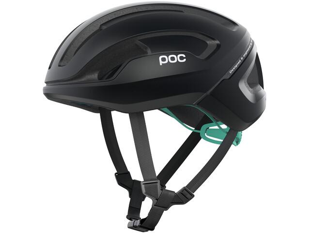 POC Omne Air Spin Helmet uranium black/fluorite green matt